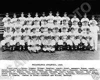 1954 PHILADELPHIA ATHLETICS BASEBALL 8X10 TEAM PHOTO