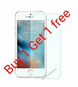PACK-OF-2-Real-HD-Tempered-glass-Screen-Protector-For-Apple-Iphone-SE-5s-5c