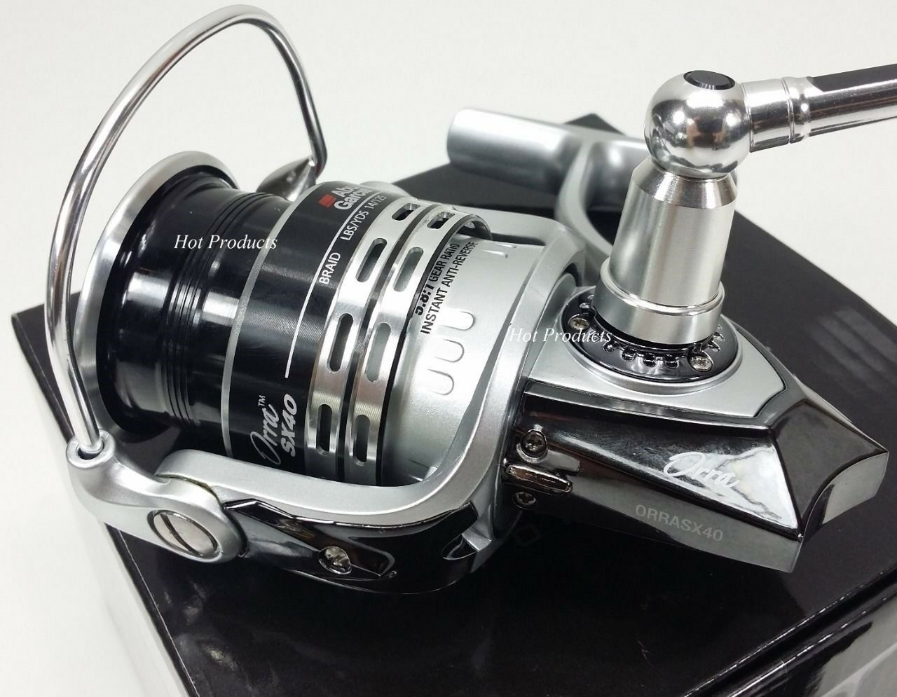 ABU GARCIA ORRA SX-40 SPINNING REEL SX 40 5.8 5.8 5.8 1 SX40 - SPARE SPOOL INCLUDED 24dfbc