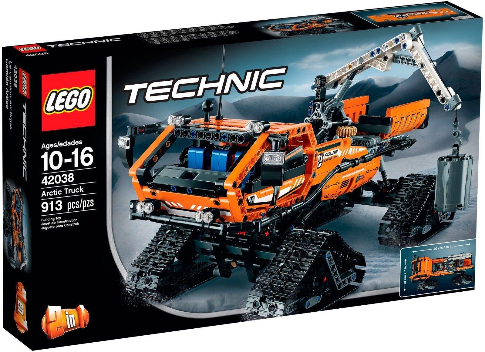 Lego Technic 42038 Nuevo Y En Caja Ártico camión grúa Vehículos Technic experto grandes