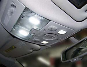 4-ampoules-a-LED-navette-Blanc-pour-plafonnier-avant-pour-Audi-A3-A4-A6