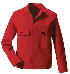 Business & Industrie UnermüDlich Rofa Arbeitsjacke Rot; Größe 48 Mit Traditionellen Methoden