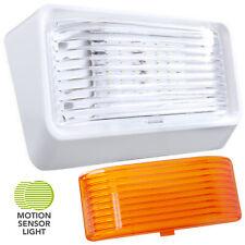 Led Rv Motion Sensor Exterior Porch Utility Light White 12v Lighting Fixture 300