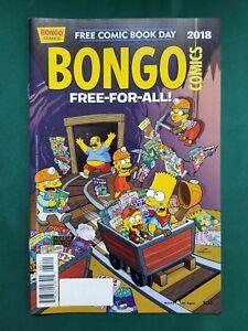 Free-Comic-Book-Day-FCBD-2018-BONGO-COMICS-FREE-FOR-ALL-UNSTAMPED-VF-NM