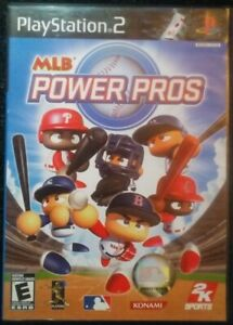 MLB-Powe-Pros-Playstation-2-Ps2-Complete-Tested-Rare-Sony-Video-Game-2k