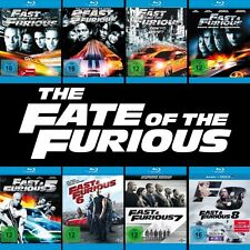 The Fast and the Furious 1 - 8 Collection (Paul Walker)          | Blu-ray | 394