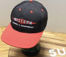 WESTERN POWER & EQUIPMENT AUBURN WASHINGTON SNAPBACK HAT EXCELLENT CONDITION