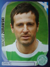 PANINI 125 Maciej Zurawski Celtic FC UEFA CL 2007/08