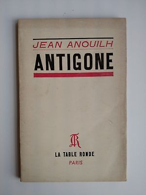 1966 Jean Anouilh Antigone Le Table Ronde French Edition EBay