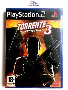 Torrent-3-El-Protecteur-PS2-Spa-Neuf-Nouveau-Scelle-PLAYSTATION-Videojuego