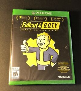 Fallout 4 GOTY [ Game of the Year Edition ] (XBOX ONE) NEW