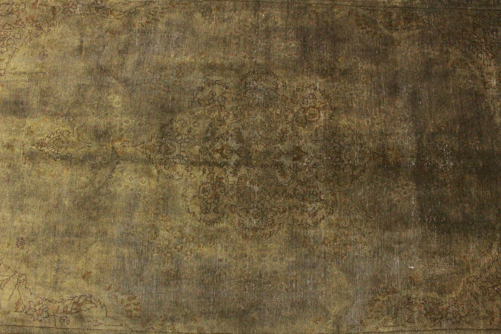 Orient Orient Orient Teppich Vintage modern schlamm Used Look 310x190 Carpet handgeknüpft 3519 c2a040