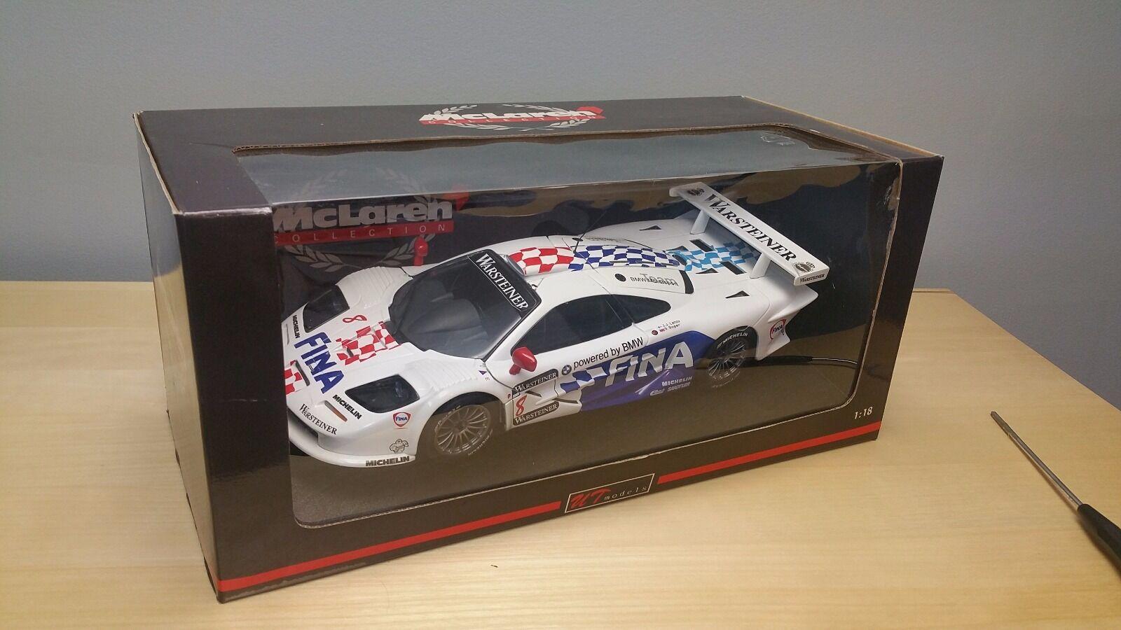 UT Models 1 18 Mclaren F1 GTR  8 Lehto Soper Diecast
