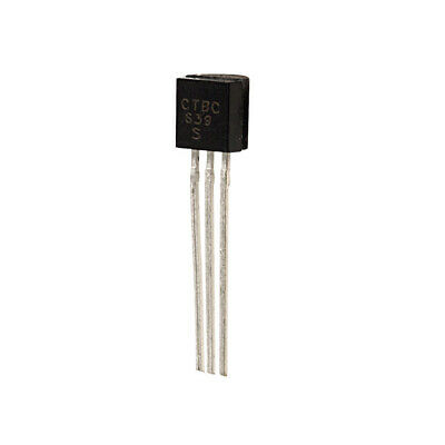 Epitaxial Silicon Transistor 10 or 20 BC640 PNP High Current Pack of 5