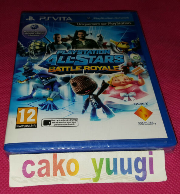 PLAYSTATION ALL-STARS BATTLE ROYALE PS VITA NEUF SOUS BLISTER VERSION FRANCAISE