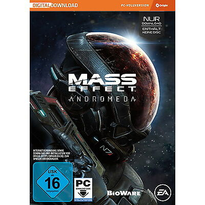 Mass Effect: Andromeda (Sony PlayStation 4, 2017, DVD-Box)