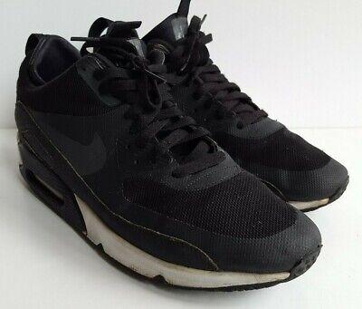 Dettagli su Nike Air Max 90 Nero Grigio Bianco INVERNO TG UK 9, EU 44 mostra il titolo originale