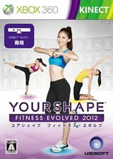 USED Your Shape Fitness Evolved 2012 Japan Import Xbox 360