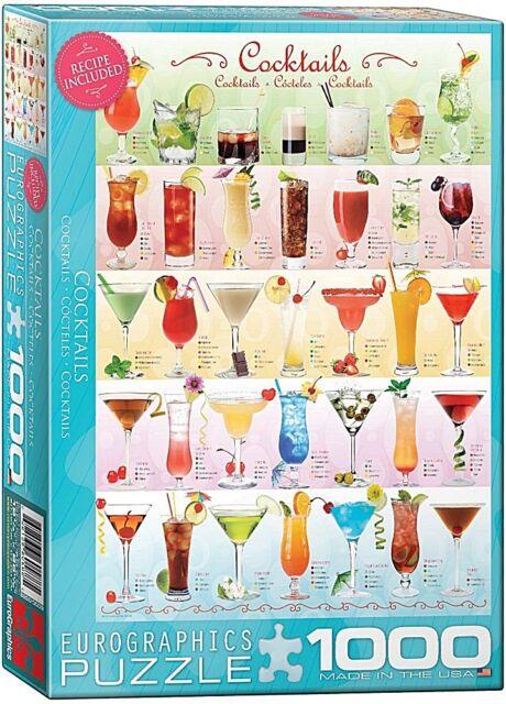 Cocktails 1000 pezzi di puzzle 680mm x 490mm (Panzer)