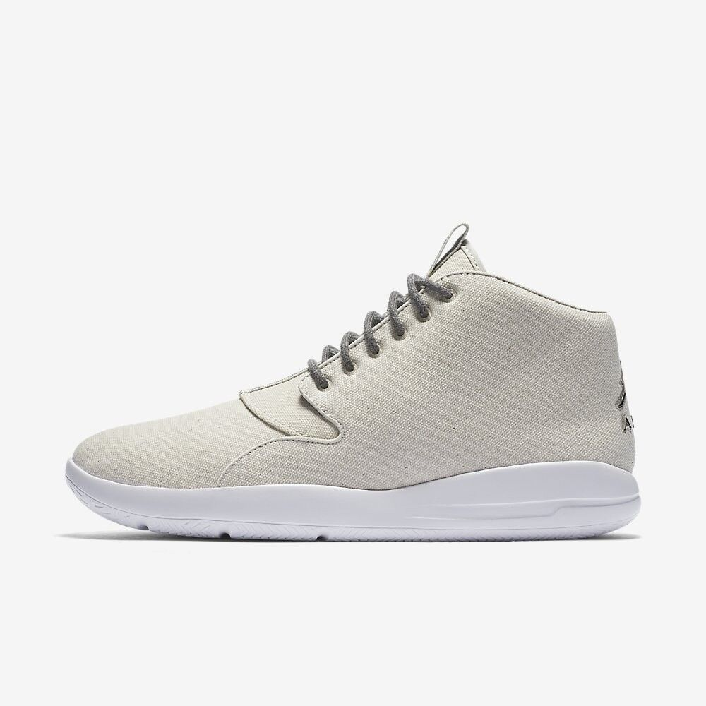 Air Jordan Eclipse Chukka # 881453 005 Off White Tan Uomo SZ 7.5 - 13