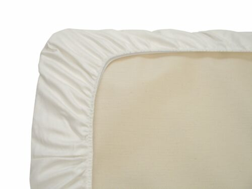 Naturepedic Fitted 3 Pack of Crib Sheets White