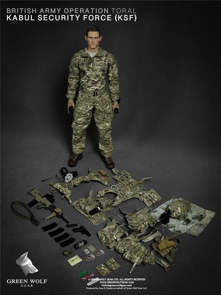 Compra anticipada 1   6 verde Wolf GwG 009 British Army (OP Tora) KSF Afghanistan