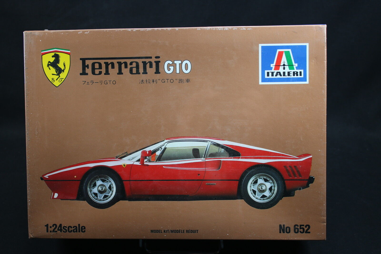 XW095 ITALERI 1 24 maquette voiture 652 Ferrari GTO - Ptitoys