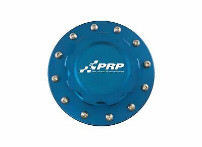 Fuel Cell Intercooler Water Tank Billet Aluminum Filler Cap Kit 6-Bolt BLUE PRP