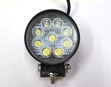 1x 9 CREE LED OFF ROAD/ FLOOD LIGHT BAR FOG LAMP 27W For Bike / CAR