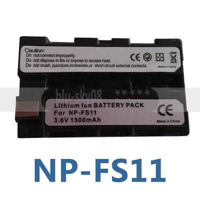 Batterie 1200mAh type NP-FS10 NP-FS11 NP-FS12 Pour Sony DCR-PC5E