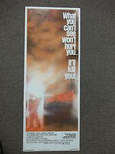 John Carpenter's The Fog original movie poster insert 14 x 36