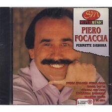 PIERO FOCACCIA - Permette signora - CD 1997 SIGILLATO SEALED
