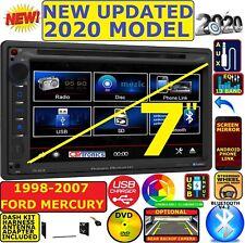 1998-2007 FORD MERCURY POWER ACOUSTIK BLUETOOTH CD DVD USB CAR RADIO STEREO PKG