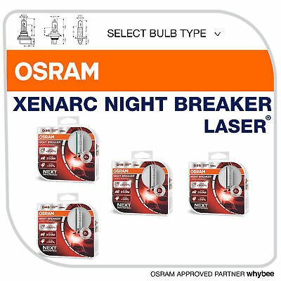 osram hid xenarc night breaker laser bulbs 200 xenon. Black Bedroom Furniture Sets. Home Design Ideas