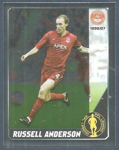 #233-LEGEND-ABERDEEN-RUSSELL ANDERSON-FOIL PANINI SCOTTISH PREMIER LEAGUE 2008