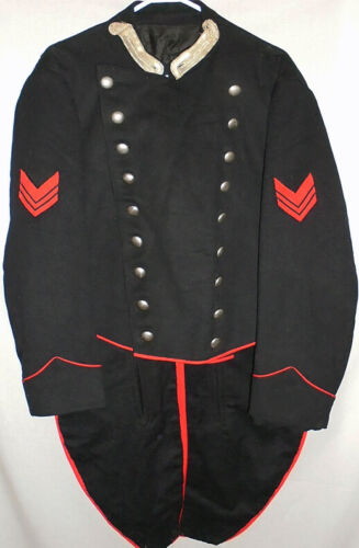 -Rare- Antique -French- Victorian Wool Military Un