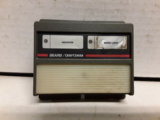 Sears Craftsman Garage Door Inside Hardwired Opener Switch