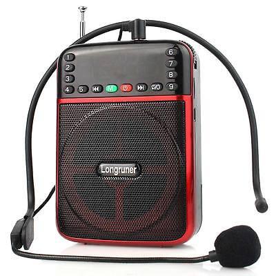 20W FM Radio Voice Expander Loudspeaker MP3 player For Coach Teacher Saleperson
