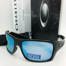 d19becdbeba NEW Oakley Turbine sunglasses Black Prizm Deep H2O Polarized 9263-14  AUTHENTIC