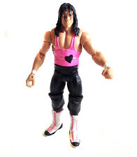 WWE WWF TNA Wrestling Classic Superstars Bret Hart Figura Mattel Muy Rara!
