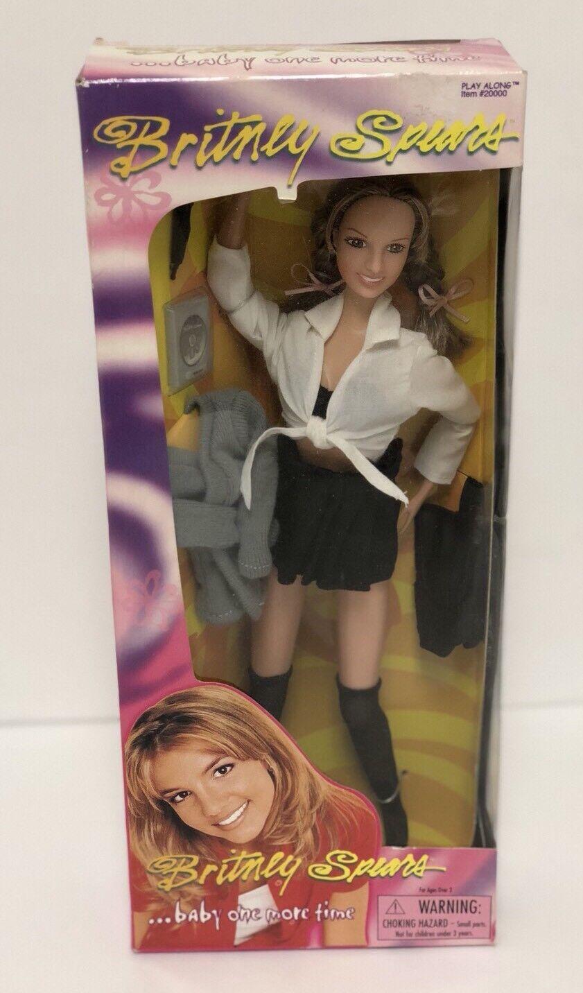 Nuevo 1999 Britney Spears bebé una vez más  que me Crazy  Muñeca de unidad