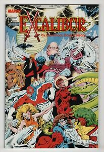1st-appearance-Excalibur-Special-NM-9-2-high-grade-no-cover-price-variant-1987