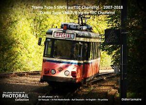 NOUVEAU-livre-photos-NIEUWE-fotoboek-Trams-Type-S-SNCV-NMVB-TEC-Charleroi