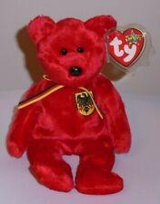 Mint w// Tag 2001 Ty Beanie Babies Graf von Rot bear