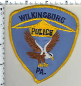 Wilkinsburg Police (Pennsylvania) Uniform Take-Off Shoulder Patch from 1992