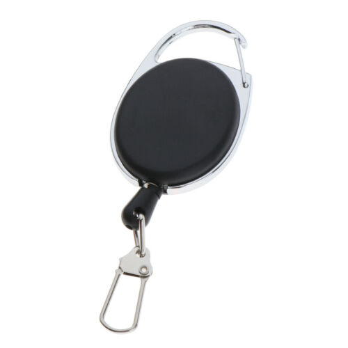 Anti-lost Retractable Key Chain Recoil Keyring Keys Holder Extendable Cord