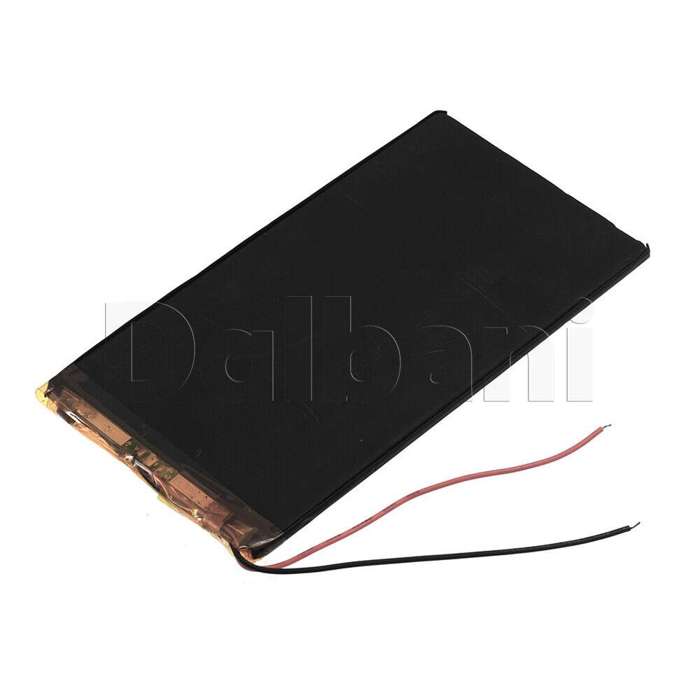 3165125, Internal Lithium Polymer Battery 3.85V 31x65x125