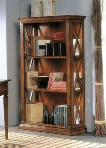 Libreria In Legno Noce.Libreria In Legno Noce Arredo Studio Ufficio Camera Soggiorno Ebay