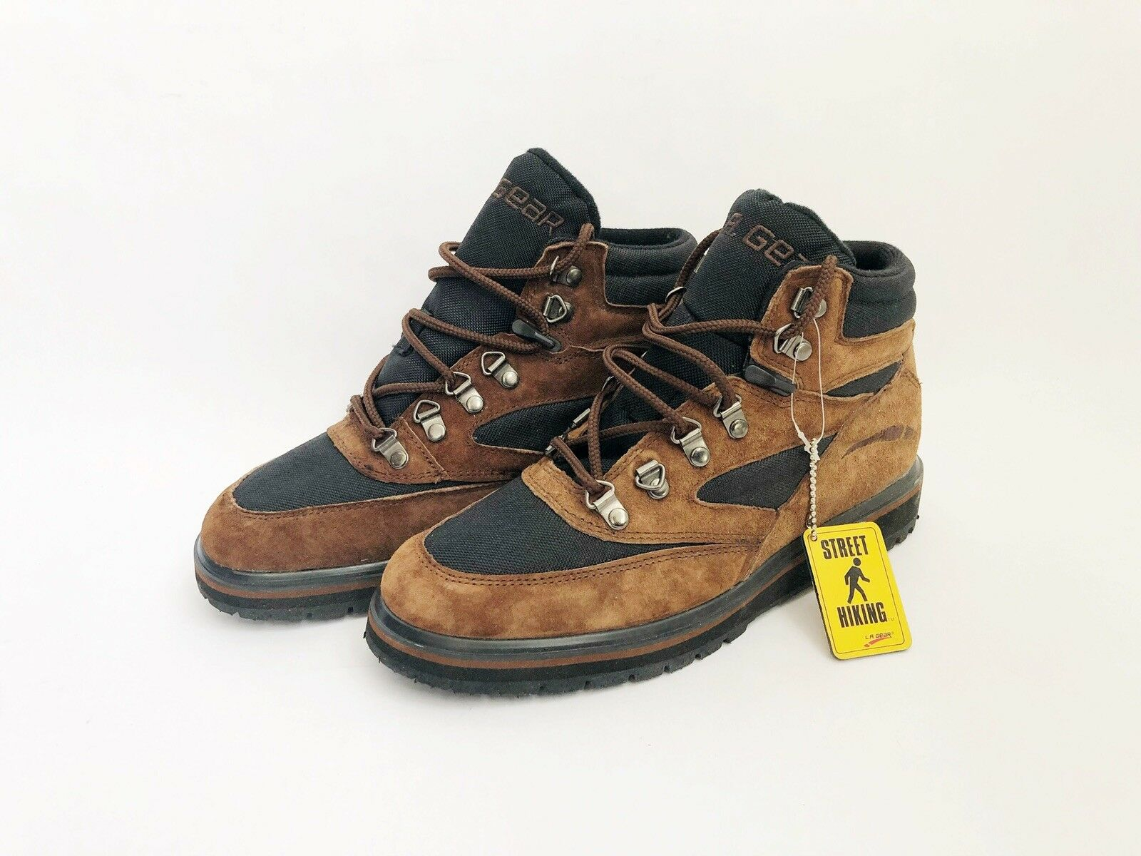 Vintage LA gear canyon cruiser high boots sneakers mens size 8 deadstock NIB 90s