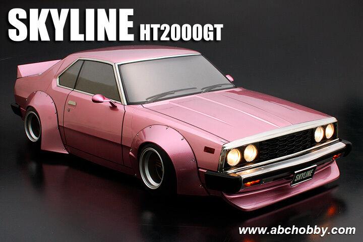 ABC-HOBBY  66167 1 10 Nissan cieloline ht2000gt (c210) lavoros M. extra larghi radhä  fabbrica diretta